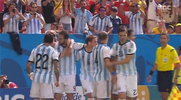 [브라질월드컵]아르헨티나, 벨기에 1-0으로 꺾고 4강진출
