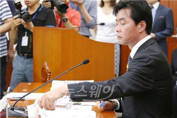 정성근 인사청문회 '위증논란' 속 파행(종합)