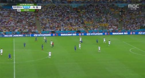 [브라질월드컵]독일-아르헨티나, 0-0 경기 종료···연장돌입