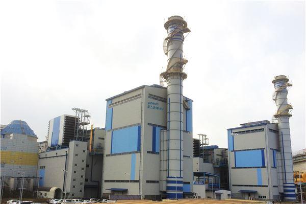 포스코에너지, 포항에 친환경·효율 부생가스복합발전소 준공