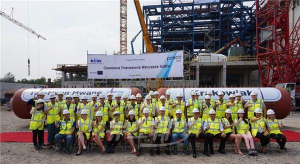 포스코건설, 폴란드 최초 폐기물 발전시설 상량식