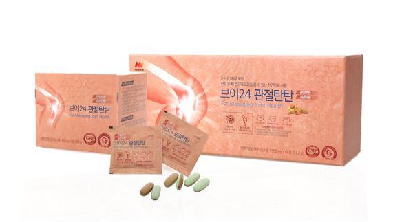 애경, '헬스앤 브이 24 관절탄탄'출시
