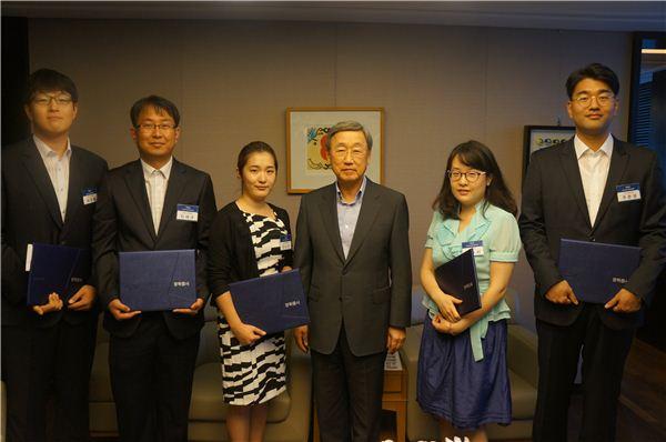 두산연강재단, '중국학 연구원' 5명에 1억원 지원