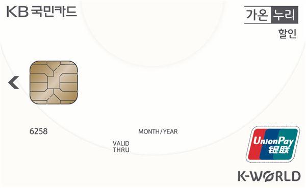 KB국민카드, '케이월드(K-World)' 은련 브랜드 출시