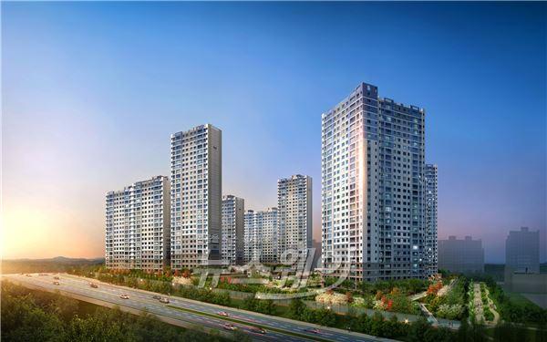 호반건설, 천안 불당 호반베르디움 3·5차 분양