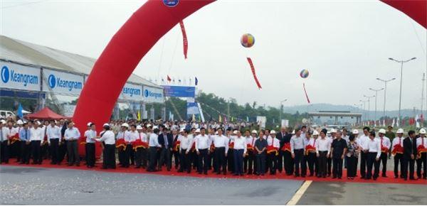 경남기업, 베트남과 중국 잇는 고속도로 공사 준공