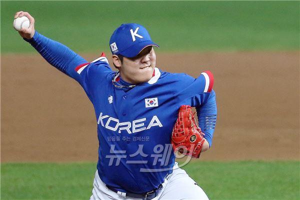 '아시안게임 야구 결승' 한현희, 이번공은 커브~