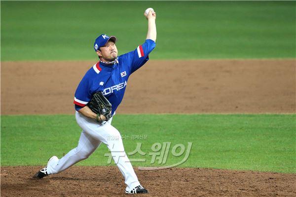 'AG 야구 결승' 봉중근, '金'을 향한 마지막 투구