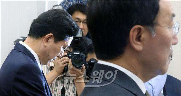 임영록·이건호 정무위 국감 일반 증인 출석