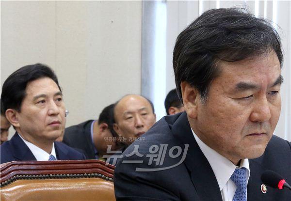 신제윤·임영록, 어려운 정무위 국감