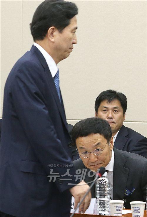 정무위 국감에서 만난 임영록·이건호