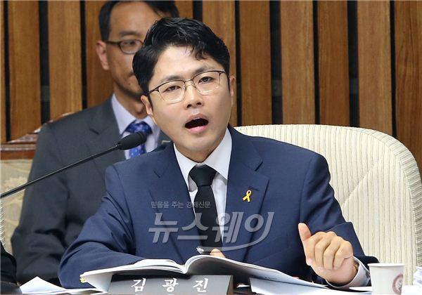"""김광진 """"군납품 부정 업체, 또 군용모 납품 낙찰"""""""