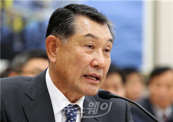 산자위 국감, 답변하는 김익환 광해관리공단 이사장
