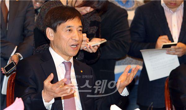 [NW포토]발언하는 이주열 한국은행 총재