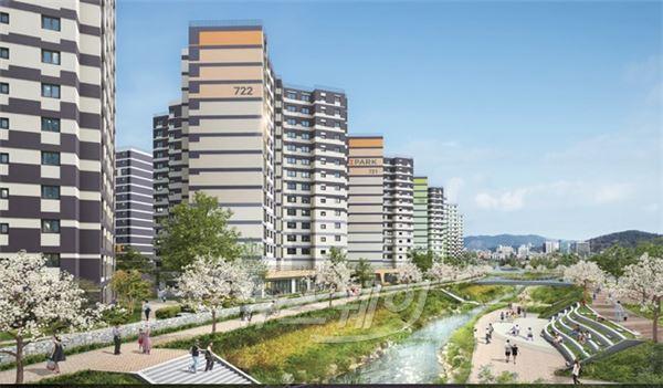 [분양열기]현대산업개발, 수원 아이파크 시티 4차