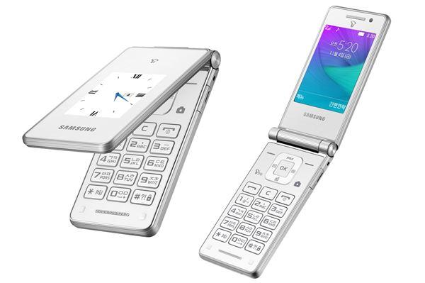 삼성전자, 듀얼 LCD 탑재 폴더폰 '삼성 마스터 듀얼' 출시