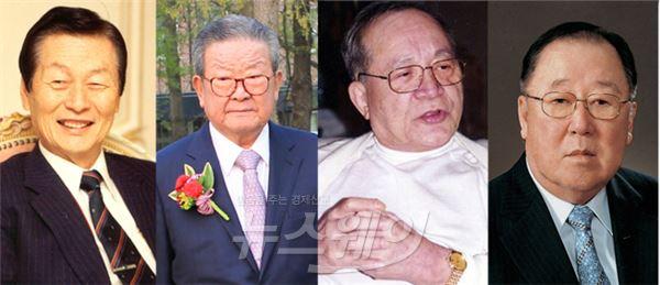 이동찬 코오롱 명예회장 별세…팔순 넘긴 재계 인사들의 현재는?