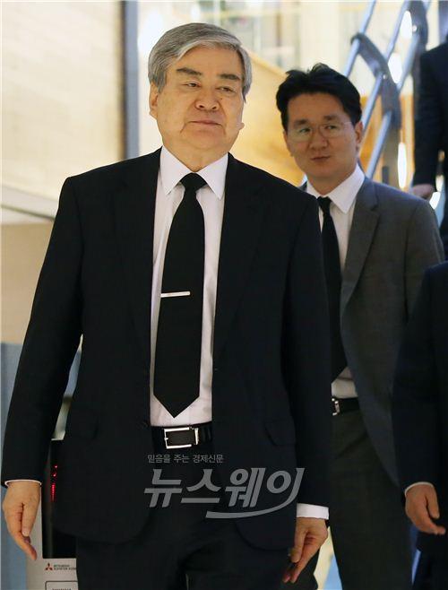 조양호 회장-조원태 부사장, 故 이동찬 명예회장 조문