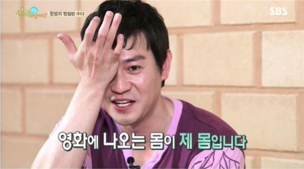 """'식사하셨어요' 박용우, """"영화 속 베드신 실제 내 몸"""""""
