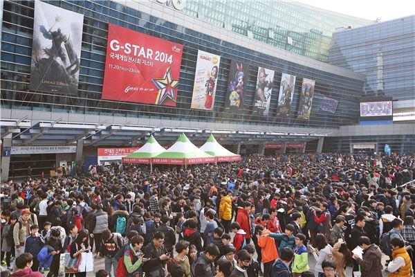10주년 맞은 '지스타2014' 폐막…역대 최다 관람객 '흥행'