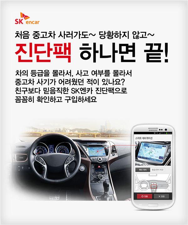 SK엔카, 車 '등급진단팩' 어플 출시