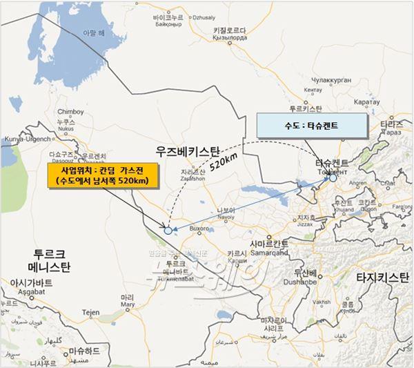 현대엔지니어링, 3조원대 우즈베키스탄 칸딤 가스처리시설 수주
