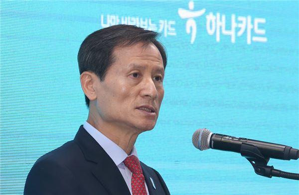 """정해붕 하나카드 사장 """"연간 200만명 신규고객 유치 목표"""""""