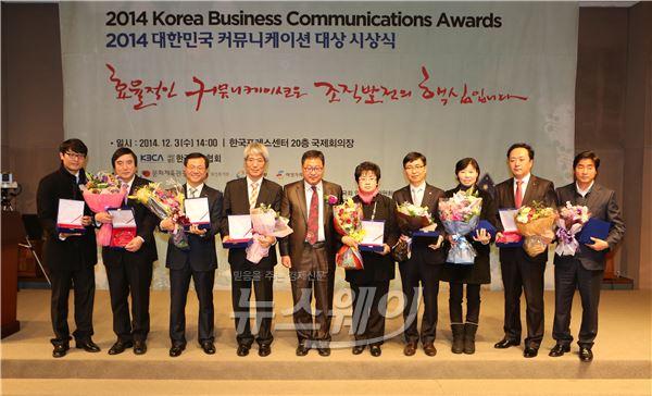 주택보증, '대한민국 커뮤니케이션 대상' 2개 부문 수상