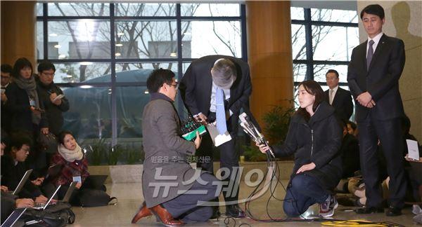 """조양호 회장 """"조현아의 애비로서 국민께 큰 용서 구한다 """""""