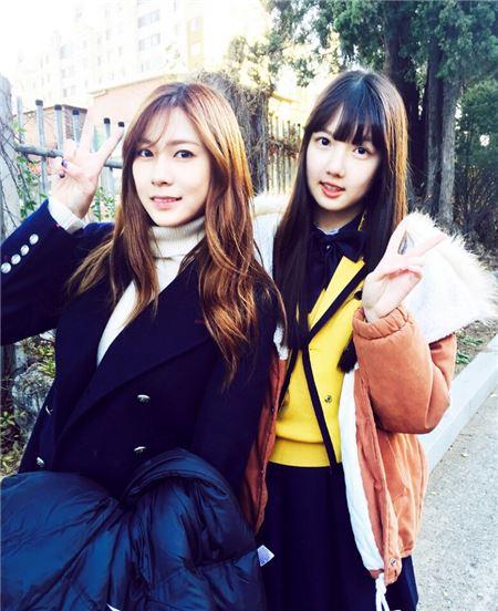 신예 걸그룹 여자친구, 에이핑크 막내 오하영이 응원하고 나선 이유는?