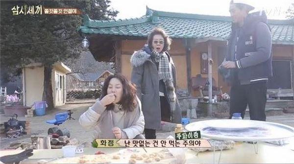 '삼시세끼' 최화정, '헉' 소리나는 음식 솜씨