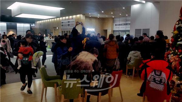 아이파크 '대구수성'·'창원용지' 본보기집 주말 5만5천여명