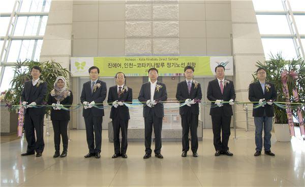 진에어, 인천~코타키나발루 정기 노선 취항