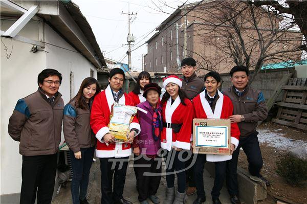 반도건설 '김포 노인종합복지관'과 훈훈한 이웃사랑