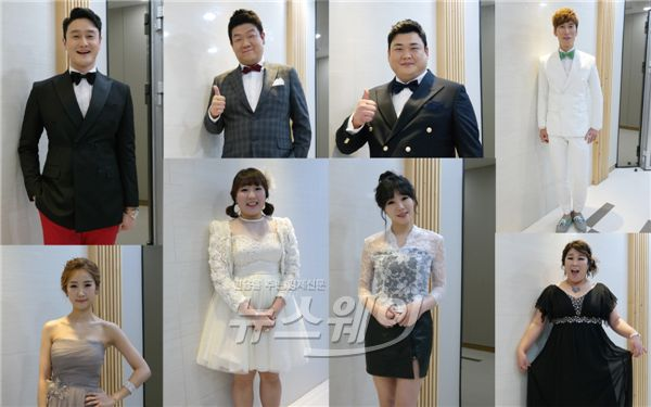 이수지·김민경·허민, 'KBS 연예대상' 레드카펫… 여배우 못지 않네