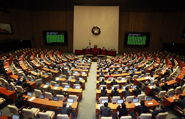 부동산3법, 천신만고 끝 국회 본회의 통과