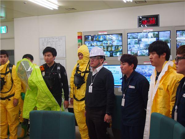 LG디스플레이, 비상 재난 대비 불시 대응훈련 실시