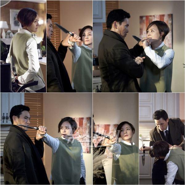 '스파이' 배종옥, 역대급 나이프 액션··· 유오성과 맞짱 '살벌'