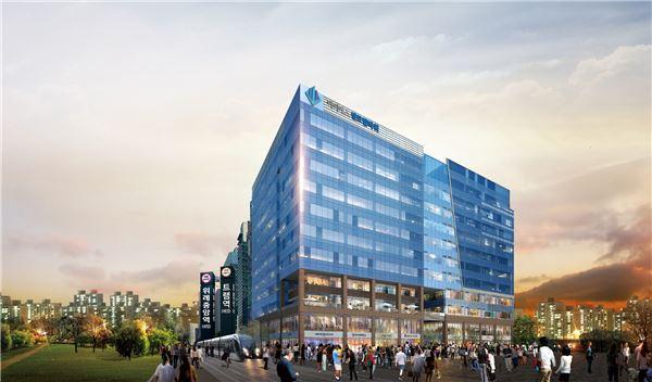 '위례중앙역 아이에스 센트럴타워' 12일 계약 시작