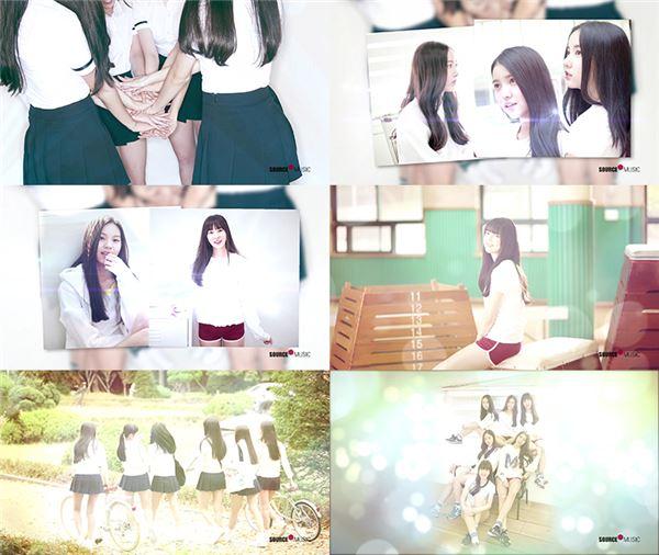 신인 걸그룹 여자친구, 데뷔 D-1 앞두고 첫 미니앨범 하이라이트 메들리 영상 공개