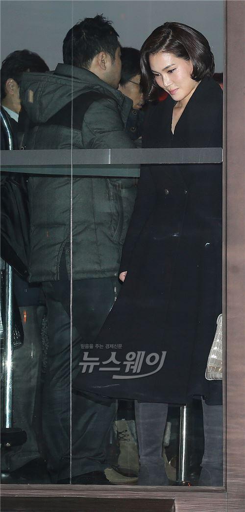 삼성그룹 신인 임원 만찬 참석하는 이서현 사장