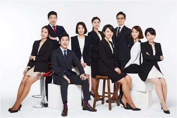 한화생명, 올해 홍보 이끌 사내모델 9명 선발