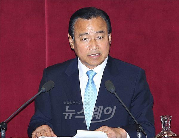 """이완구 후보자 """"차남 무릎 부상으로 병역면제…공개검증 용의"""""""