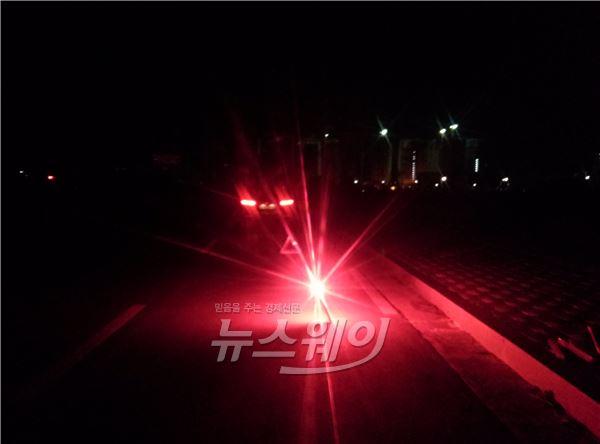 도공, 불꽃신호기 판매…고속道 야간 2차사고 막는다