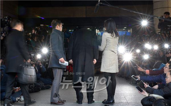 고개숙인 조양호 한진그룹 회장 '땅콩회항 2차 공판'