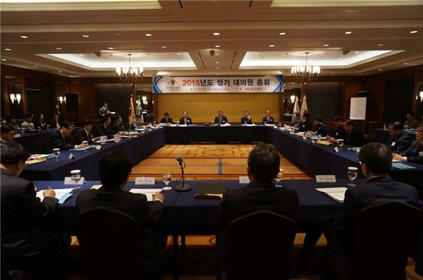 정의선 현대차 부회장, '2015 대한양궁협회 정기대의원 총회' 참석