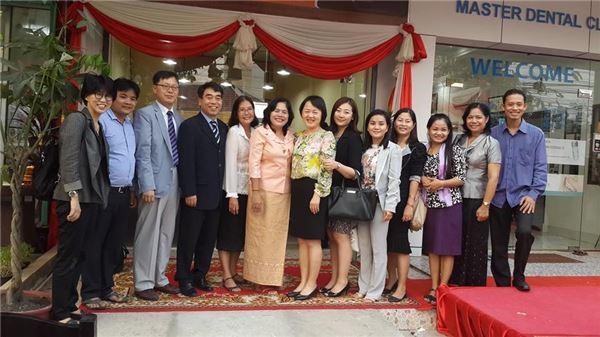 예탁원, 캄보디아 여성폭력 피해자 자립지원 카페 개소