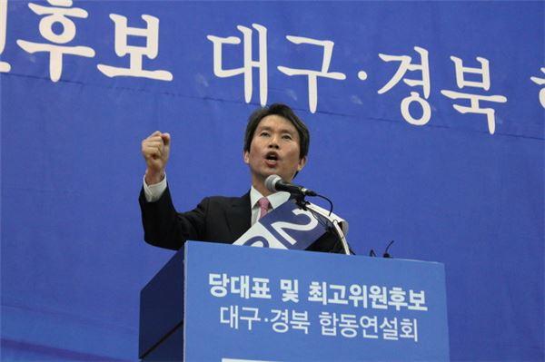 """'세대교체론' 이인영 """"제2 김대중, 제 3의 노무현 희망 보여달라"""""""