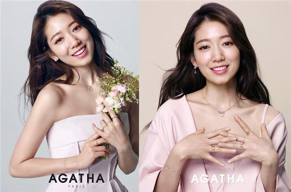 박신혜, 발렌타인데이 사랑스런 여친룩 완성