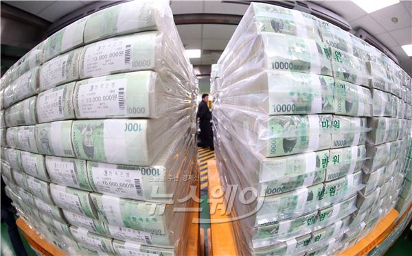 한국은행 설 자금 방출